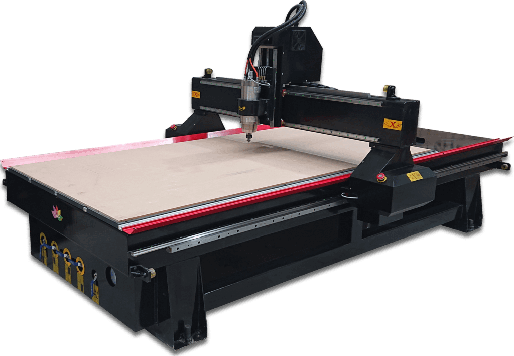 CNC router for woodworking